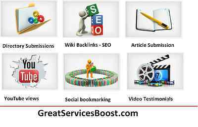 Link Building SEO - 500 Web Directory submissions - FREE BONUS INCLUDED