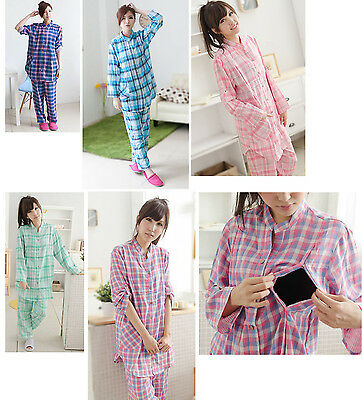 Adjustable Sleeve pregnant maternity breastfeeding Pajama set nursing sleepwear