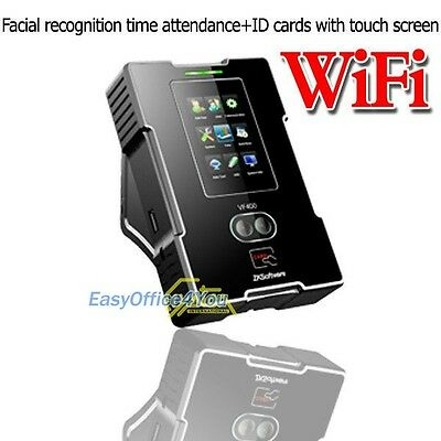 Spanish Built-in Ethernet+Wifi Biometric Face+RFID Time Track Attendance Clock