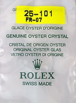 ROLEX 100% genuine OYSTER crystal Cyclop plastic. Part #101. NEW  factory sealed