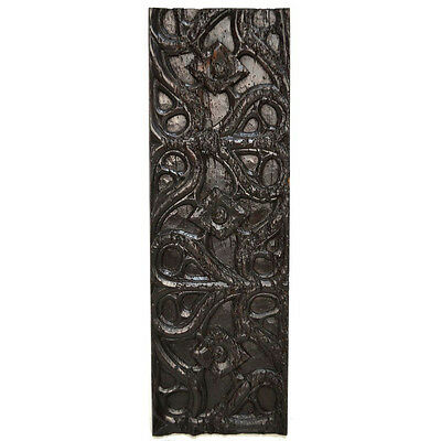 Antique 18Th C. Carved Gothic Architectural Salvaged Panel