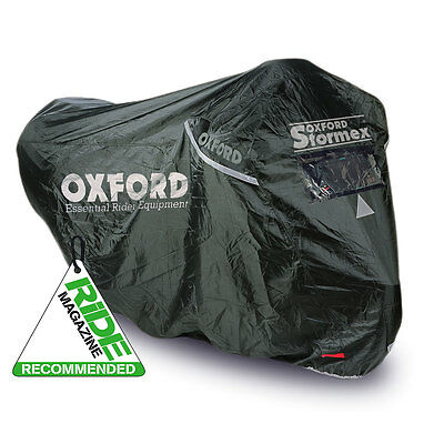 Oxford Stormex Ultimate All Weather Motorcycle Bike Rain Outdoor Cover Large