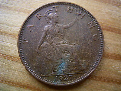 1927  george v  farthing collectable