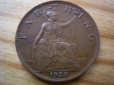1928  george v  farthing collectable