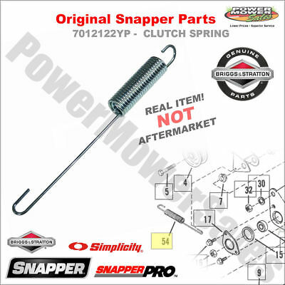 7012122YP - CLUTCH SPRING for Self-propelled mower - Original Snapper Part