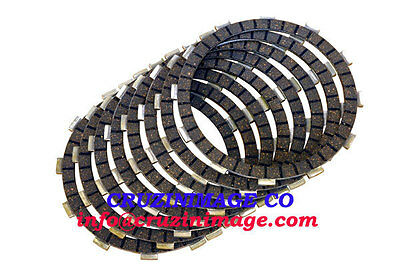84-86 Honda VF1100C VF1100S Clutch Plates Set 8 Friction Plates Include CD4409