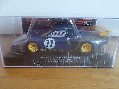 Sideways by Race SW28 Ferrari 512BB LM Nr. 77 Ch. Pozzi JMS Racing LeMans Nuovo