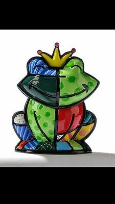 ROMERO BRITTO  MINI FROG PRINCE CHARMING GREEN MALE 1st Edition First