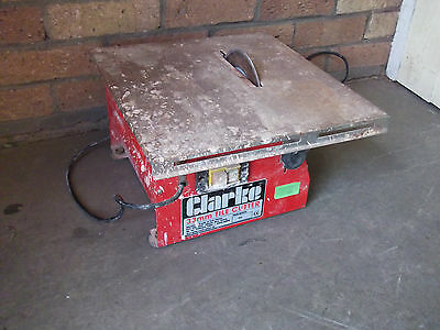 ELECTRIC TILE CUTTER CLARKE 33mm for FLOOR or WALL TILES