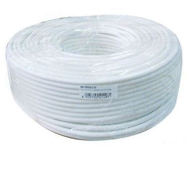 Electric Cable Multipolar Tripolar Pvc White 3G1,50 (3X1,50) Price For 1 Metre