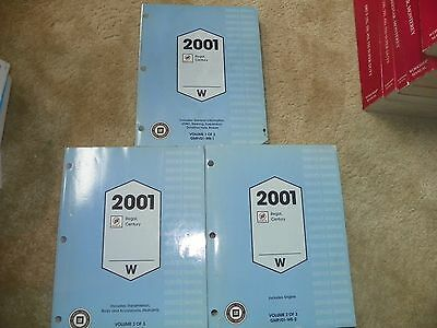 2001 Buick Regal Century  Factory Service Manuals