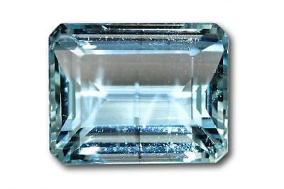 Aigue-marine naturelle 13.58 carats