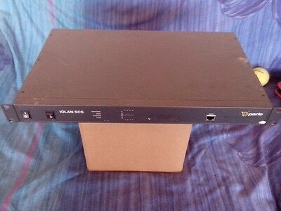 Perle IOLAN SCS8 DAC Dual-AC Power incl Admin/Console cable