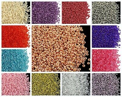 CHOOSE COLOR! 20g 10/0 (2.3mm) Seed Beads Rocailles Preciosa Ornela Czech Glass