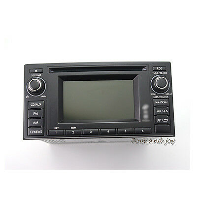 OEM Car Radio Single CD Player Unused MP3 USB AUX for Subaru Forester 2012 2011