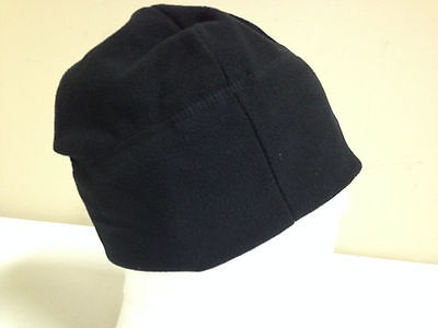 Us Army Issued Polartec Hat Fleece Black Cap One Size New