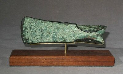 Fine Large Celtic Bronze Axe c. 1400 BCE - Price Reduced!