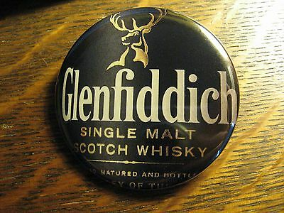 Glenfiddich Single Malt Scotch Whiskey Logo Advertisement Pocket Lipstick Mirror
