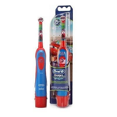 Oral-B Kids DB4510K Stages Power Battery Powered Electric Toothbrush Boys Girls