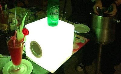 LED Cube with Bluetooth Speaker