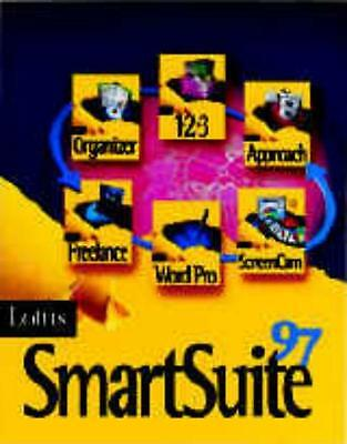 Lotus SmartSuite 97 PC CD 1-2-3, Approach, Freelance Graphics, Word Pro tools!