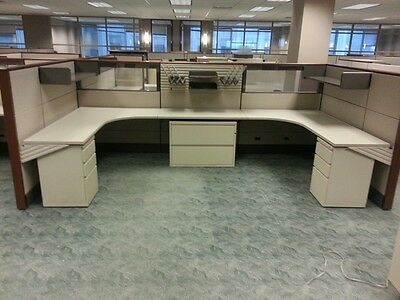 8 Stations - Used Herman Miller Ethospace Cubicles - Priced to sell!
