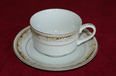Queen Anne, Signature Collection Select Fine China Cup and Saucer Plate