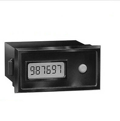 50M8496 Red Lion Cub3Lr00 Electronic Counter, 6 Digits, Rugged