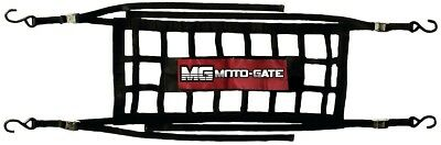 Moto-Gate Mx NEW Mini Black Soft Ute Motorcycle Cargo Net Motocross Trailer Gate