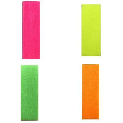 Unisex Terry Towelling Headband Sweatband Sweat Head Band Sports Neon Colours