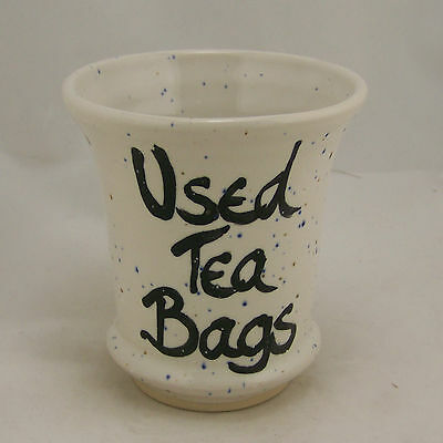 Handmade Used Tea Bag Holder