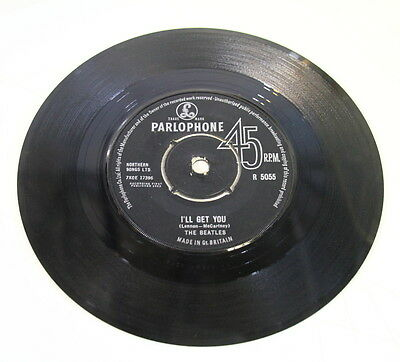 """Parlophone The Beatles I'll Get You She Loves You Vinyl EP 7"""" 45 RPM 7XOE 17396"""