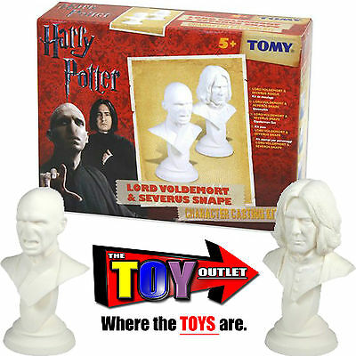 LORD VOLDEMORT & SEVERUS SNAPE Character Casting Kit - HARRY POTTER - TOMY - NEW