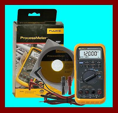 Xmas Special Sale - Fluke 787 Industrial Multimeter Processmeter Kit Made in USA