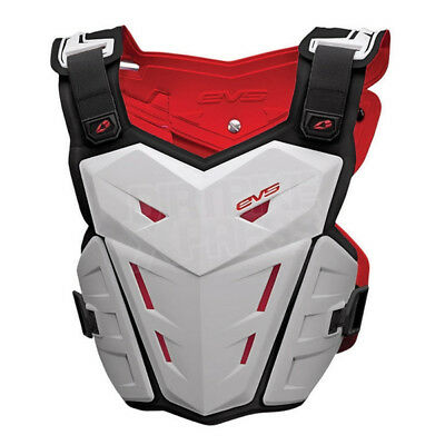 EVS 2014 Mx Gear F1 Adult Body Armour White Motocross Dirt Bike Chest Protector