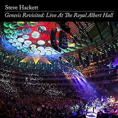 Steve Hackett - Genesis Revisited: Live At The Royal Albert Hall 2 Cd + Dvd Neuf