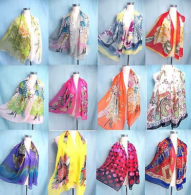 *US Seller*wholesale lot of 5 fashion Scarves spring summer seasons