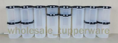 Tupperware Modular Mates Oval Mixed set of 14 - FREE Labels and Express Delivery
