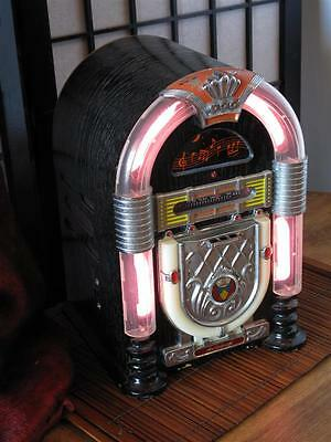Vintage Jute Box Style AM/FM Radio… with Cassette Player and Nightlight...