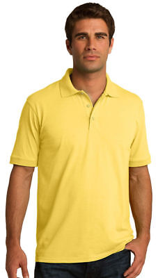 Port & Company Men's Big & Tall Casual Short Sleeve Golf Polo T-Shirt. KP55T