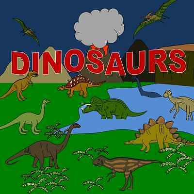 DINOSAURS topic resource pack on CD- EYFS, KS1, CHILDMINDER, Primary teaching