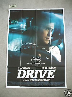 Drive * 2011 Original Movie Poster French Grande Large Ryan Gosling Authentic Nm