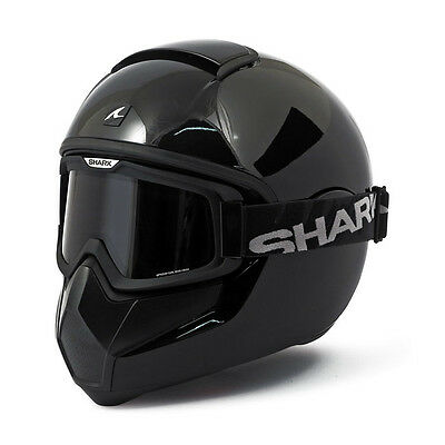 Casque Integral Shark Vancore Noir Brillant/ Gloss Black Moto Harley Davidson