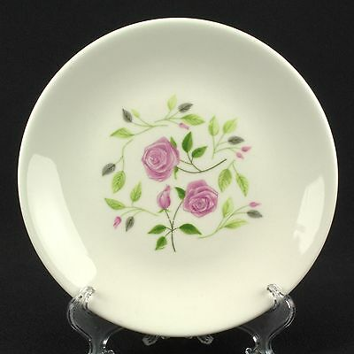 HARD TO FIND Iroquois Wild Rose Bread Plate  Flowers Shade A