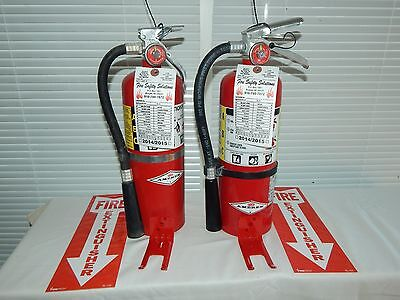 Fire Extinguisher - 5Lb ABC Dry Chemical  - Lot of 2