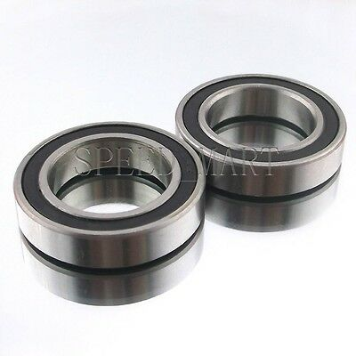 10PCS 6810-2RS 6810RS Deep Groove Rubber Shielded Ball Bearing 50mm*65mm*7mm