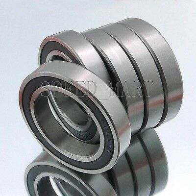 30mm*47mm*9mm 1PCS 6906-2RS 6906RS Deep Groove Rubber Shielded Ball Bearing