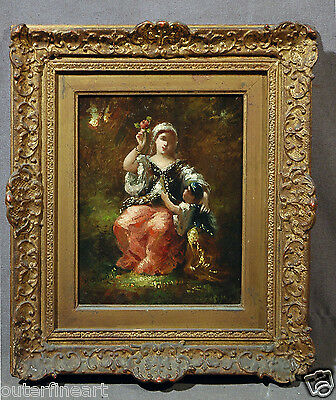 19th Century Oil Painting 'style of' Narcisse Virgile Diaz de la Peña (FRENCH)