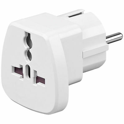 NK Reiseadapter Welt auf EU US / WORLD to EU Travel Adapter Reise Stromadapter