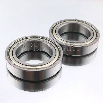 2PCS 6802ZZ Deep Groove Metal Double Shielded Ball Bearing (15mm*24mm*5mm)